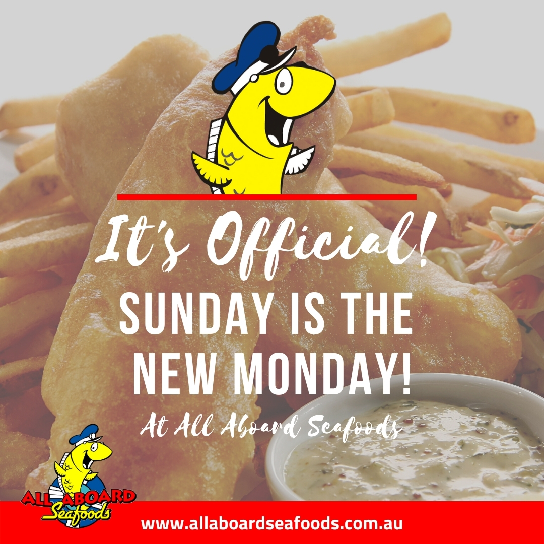 """It's official """"MONDAY is the new SUNDAY!"""" 1"""